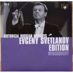 Myaskovsky: Symfoni nr. 22 & 25. Evgeny Svetlanov, USSR SO. 1 CD. Russian Archives.
