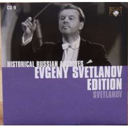 Svetlanov: Sibirian Fantasy, Festive Poems. USSR State TV & Radio SO. Evgeny Svetlanov. 1 CD. Historical Russian Archives.