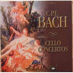 CPE. Bach: Cellokoncerter. 1-3. 1 CD. Brilliant Classics