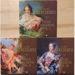 Boccherini: Cellokoncerter. Julius Berger. 3 CD. Brillant Classics