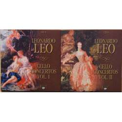 Leo: Cellokoncerter. Julius Berger, V. Czarnecki. 2 CD. Brilliant Classics