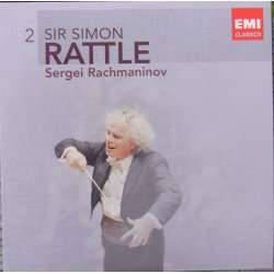 Rachmaninov: Symfoni nr. 2. + Vocalise. Simon Rattle. Los Angeles PO, 1 CD. EMI
