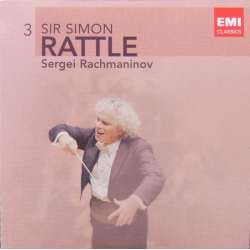 Rachmaninov: Klaverkoncert nr. 2. + Rhapsody on a Theme of Paganini. Simon Rattle, Cecile Ousset. 1 CD. EMI