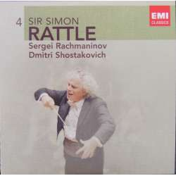 Rachmaninov: Symphonic Dances. & Shostakovich: Symphony no. 1. Simon Rattle. 1 CD. EMI