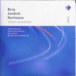 Berg, Janacek, Hartmann: Violinkoncerter. Zethetmair, Holliger. 1 CD. Warner