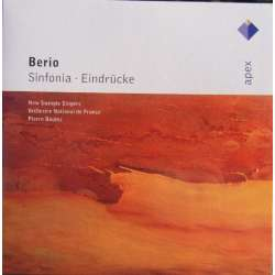 Berio: Sinfonia. - Eindrücke. Pierre Boulez, Orchestre National de France. 1 CD. Warner