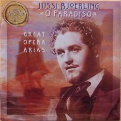 Jussi Björling: O paradiso & store opera arier. 1 CD. RCA.