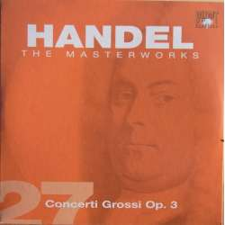 Handel: Concerti Grossi opus. 3. Iona Brown, Academy of st. Martin in the Fields. 1 CD. Brilliant Classics