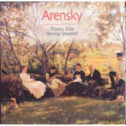Arensky: Klavertrio & Strygekvartet. The Amsterdam Chamber Music Society. 1 CD. Brilliant Classics