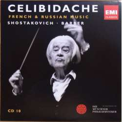 Shostakovich: Symphonies nos. 1 & 9. & Barber: Adagio for Strings. Sergiu Celibidache 1 CD. EMI