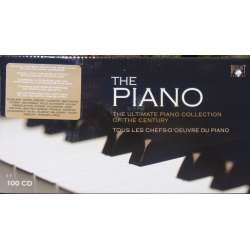 The Piano. The Ultimate Piano Collection of the Century. 100 CD. Brilliant Classics