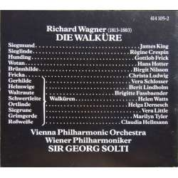 CD Libretto. Wagner: Die Walkure. CD bog på 156 sider