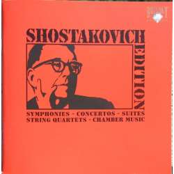 Shostakovich Edition. Booklet. 88 pages. Brilliant Classics 8128