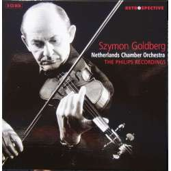 Szymon Goldberg: Violinist and Conductor. The Philips Recordings. 8 CD. Brilliant Classics