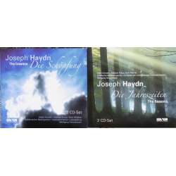Haydn: The Creation & The Seasons. Gönnenwein, Kraus, Donath. 4 CD. Membran