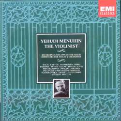 Yehudi Menuhin: The Violinist. 10 CD. EMI
