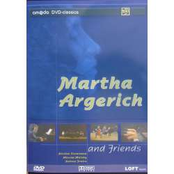 Martha Argerich and Friends. Mozart, Schumann, Rachmaninov og Ravel. 1 DVD. Amado
