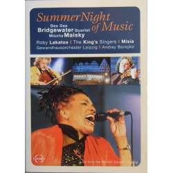 Summernights of Music. Dee Dee Bridgewater Quartet. Mischa Maisky. 1 DVD. Euroarts