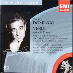Placido Domingo: Verdi arias & Duets. 1 CD. EMI Great Artist of the Century