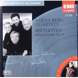 Beethoven: String Quartet op. 18. nos. 1-6. Alban Berg String Quartet. 2 CD. EMI