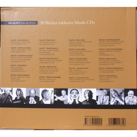 A Collection of Great EMI Artists. 20 cd + bøger.