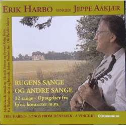 Erik Harbo sings Jeppe Aakjær. 1 CD. + 1 DVD. CDK 1072
