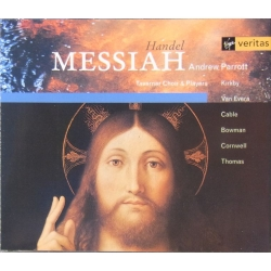 Handel: Messiah. Andrew Parrott. Kirkby, van Evera, Cable, Bowman. 2 CD. Virgin.
