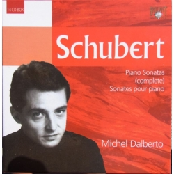 Schubert: Complete Piano music. Michel Dalberto. 14 CD. Brilliant Classics