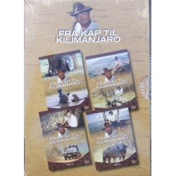 From Cape to Kilimanjaro. Danish ranger. Lars Ørlund. 4 DVD