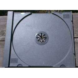 Inlay tray to hold the disc firmly in the box. The color is black.
