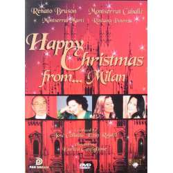 Happy Christmas from Milan. Montserrat Caballe, Renato Bruson. 1 DVD. Pan Dream
