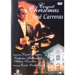 Christmas Concert. José Carreras: Panis Angelicus, Ave maria. 1 DVD. Pan Dream