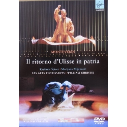 Monteverdi: Il ritorno D'Ulisse in patria. Laporte, Stains, Bontoux. William Christie, Les Arts Florissants. 1 DVD. Virgin