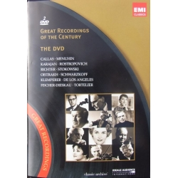 Great Recordings of the Century. 2 DVD. EMI