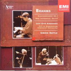 Johannes Brahms: Piano Concerto no 1. Leif Ove Andsnes, Simon Rattle. 1 CD. EMI 5565832 New Copy.