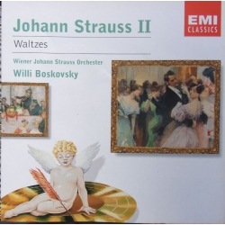 J. Strauss II. Waltzes. Willi Boskovsky. 1 CD. EMI