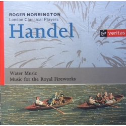 Handel: Water music & Music for Royal Fireworks. Roger Norrington. 1 CD. Virgin