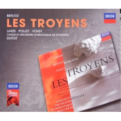 Berlioz: Les Troyens. Lakes, Pollet, Voigt. Charles Dutoit. 4 CD. Decca