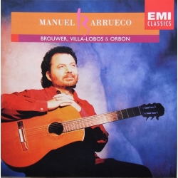 Guitar works by Brouwer, Villa-Lobos, Orbon. Manuel Barrueco. 1 CD. EMI.