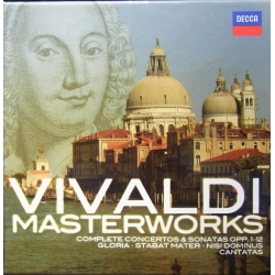 Vivaldi: The Masterworks. Christopher Hogwood, Academy of Ancient Music. 28 CD. Decca
