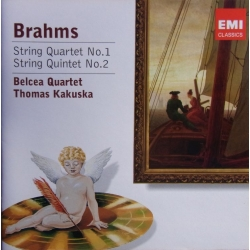 Brahms: String Quartet no. 1 & String Quintet no. 2 Belcea Quartet. 1 CD. EMI