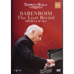 Daniel Barenboim: The Liszt Recital from la Scala. 1 DVD. Euroarts