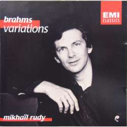 rahms: Piano Variations on a theme by Robert Schumann, Mikhael Rudy. 1 CD. EMI.