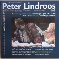 Peter Lindroos (tenor) sings highlights from the Royal Danish Theatre's repertoire. 2 CD. Classico