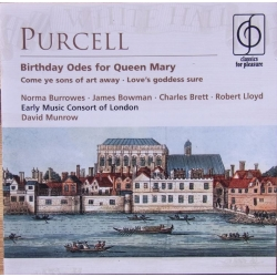 Purcell: Birthday ode to Queen Mary. David Munrow. The Early Music Consort of London. 1 CD. EMI
