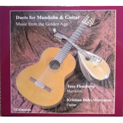 Duet for Mandolin & Guitar. Tove Flensborg, Kristian Buhl-Mortensen. 1 cd. CDK 1089 a