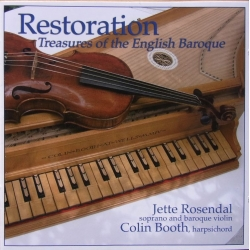 Restoration. Treasures of the English Baroque. Purcell, Blow, Croft. 1 CD. CDK 1002