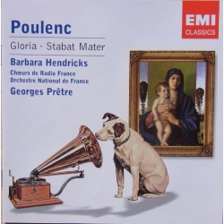 Poulenc: Gloria & Stabat Mater. Barbara Hendricks. Georges Prétre, Orchestre National de France. 1 CD. EMI