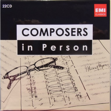 Composers in Person. 22 CD. EMI