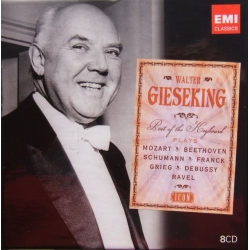 Walter Gieseking. Best of the Keyboard. Mozart, Beethoven, Schumann, Franck, Grieg, Debussy, Ravel. 8 CD. EMI